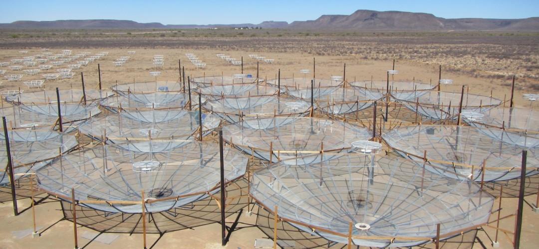 Радиотелескоп HERA в Южной Африке в 2016 году. Фото © HERA