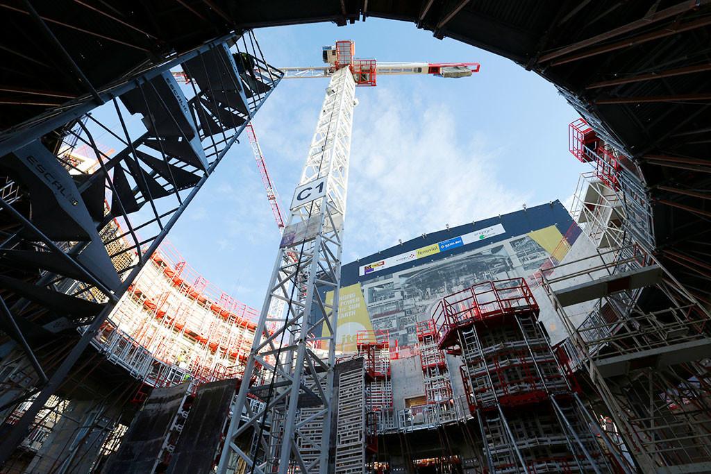 Международный экспериментальный термоядерный реактор (ITER). Фото © AP Photo / Claude Paris