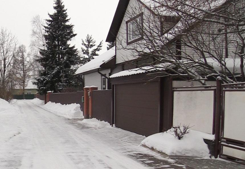 """Дом в коттеджном посёлке """"Резиденция Рублёво"""". Фото © L!FE"""