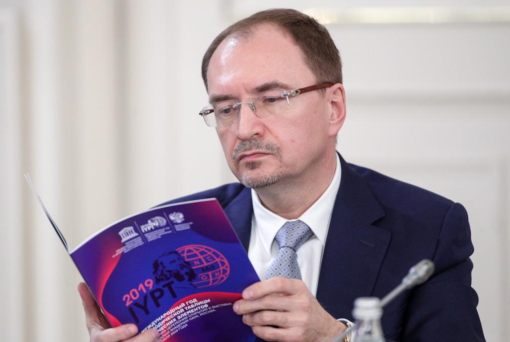 Ректор СПбГУ Николай Кропачев. Фото © ТАСС / Сергей Бобылев