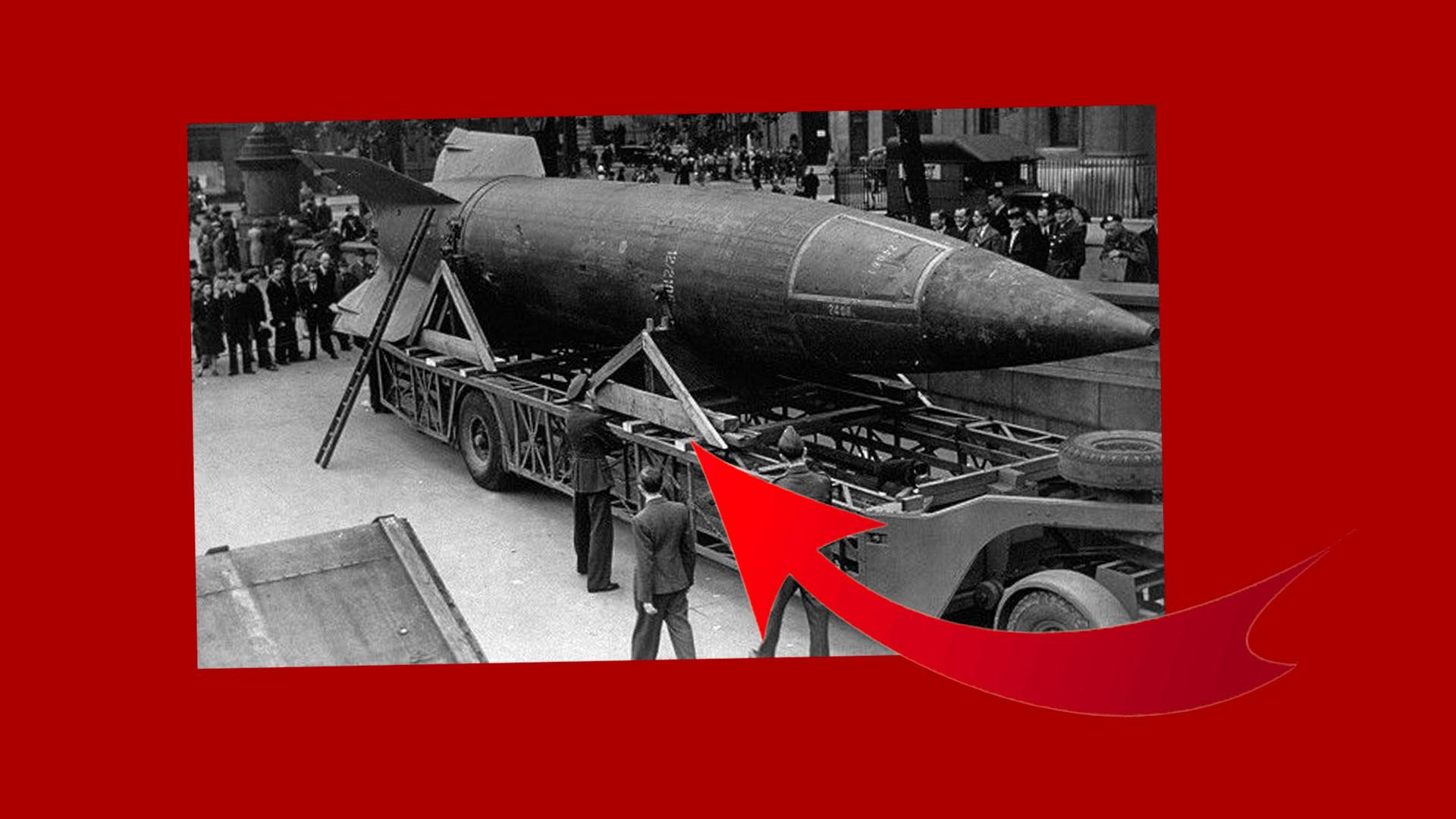Ракета Фау. Фото © Public Domain