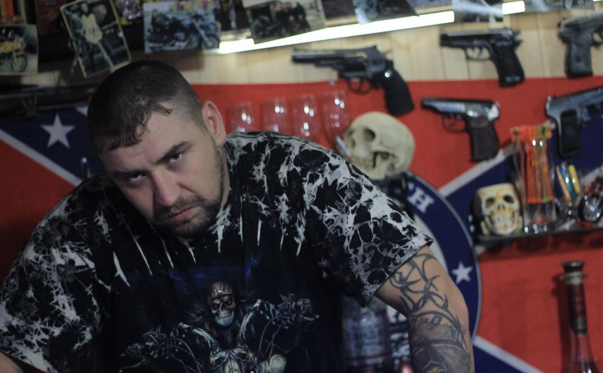 """Лидер сургутских """"вольных братьев"""" — Александр Джин. Фото © VK / Klavdy Trunov"""