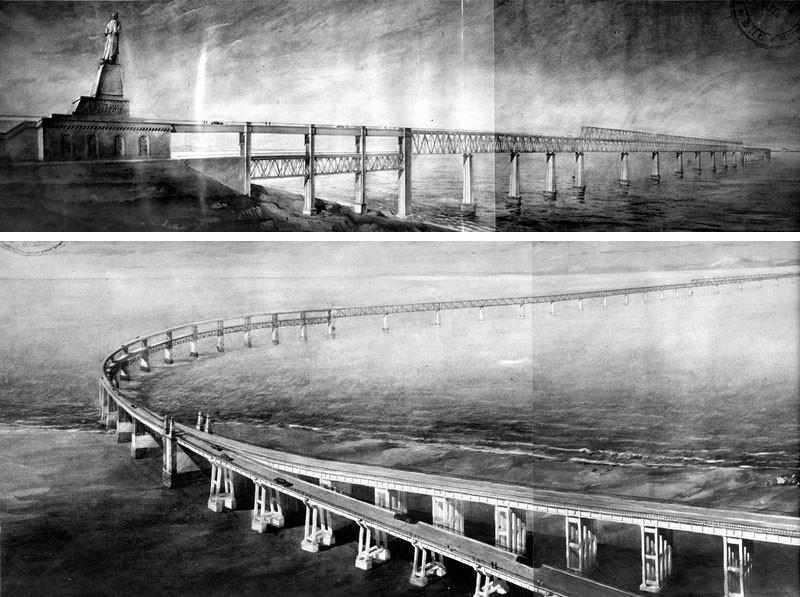 Проект моста. Фото © kerch-most.ru