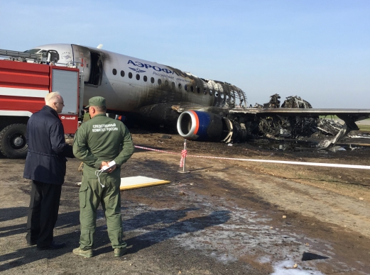 Глава СКР Александр Бастрыкин на месте трагедии. Фото: пресс-служба СКР