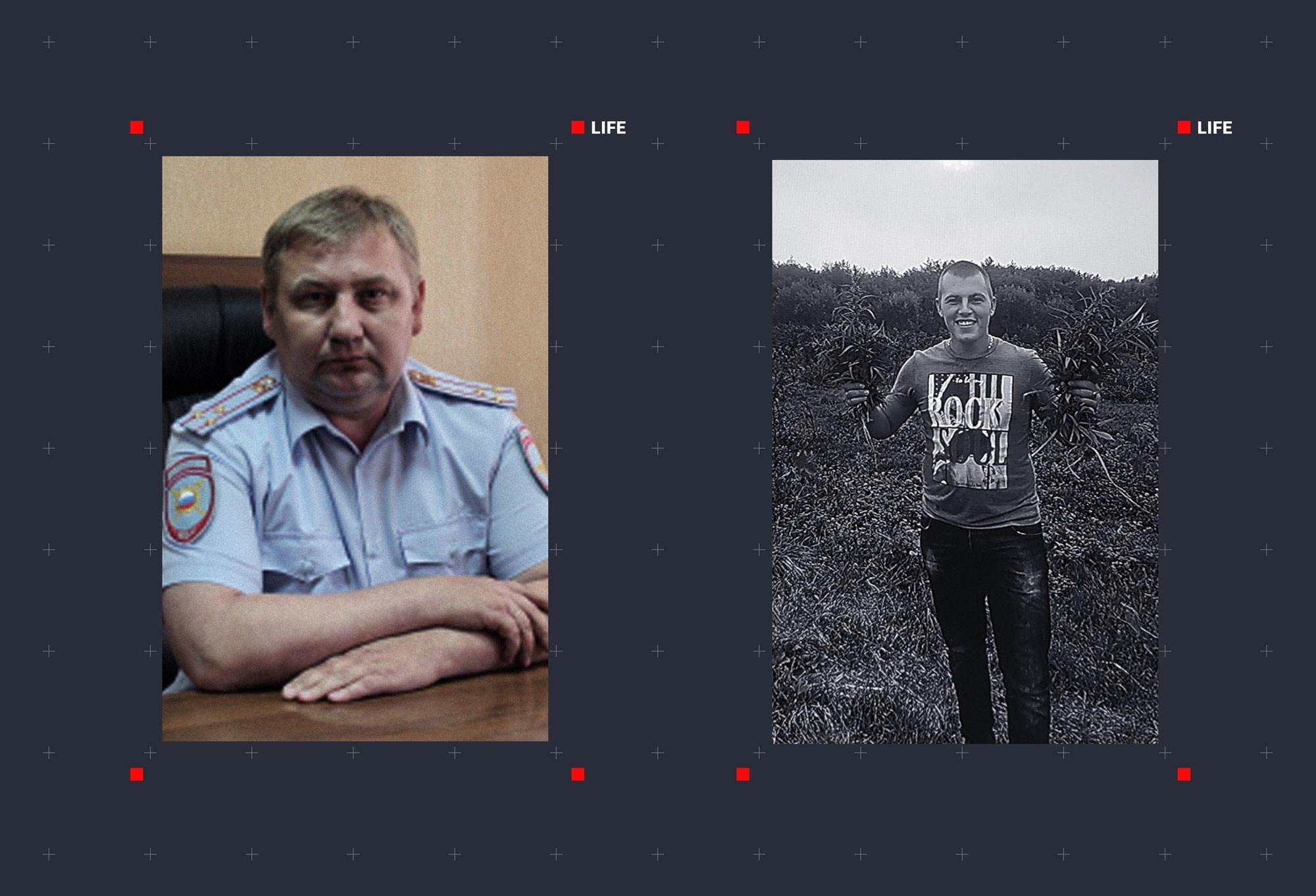 Полковник Игорь Кларк (слева) и Роман Чумаков (справа). Фото © Официальный сайт Министерства внутренних дел Российской Федерации, © Стопхап