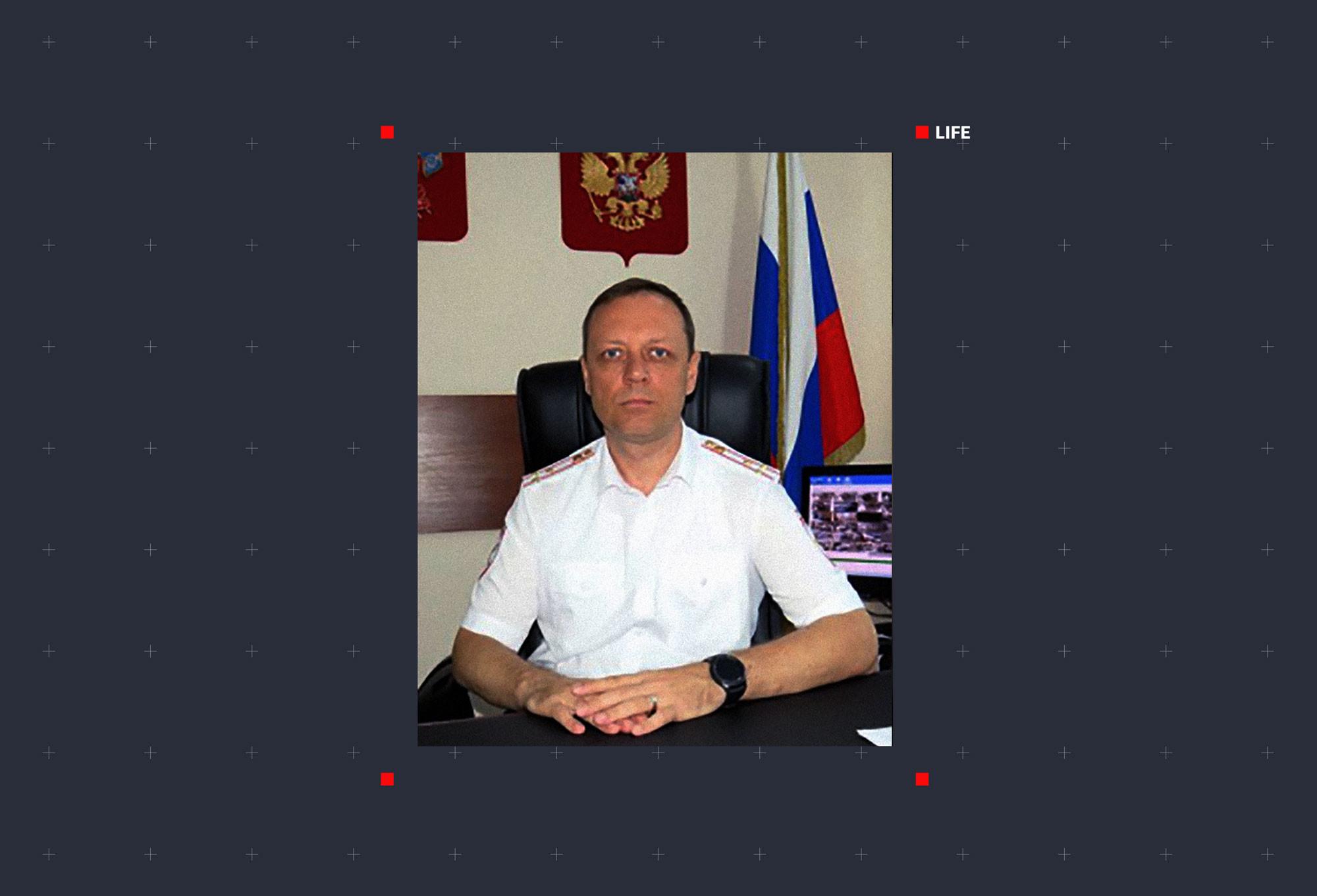 Полковник Виталий Шевченко. Фото © Официальный сайт Министерства внутренних дел Российской Федерации