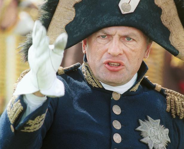 Историк Олег Соколов в образе Наполеона Бонапарта. Фото © ТАСС / Андрей Гореловский
