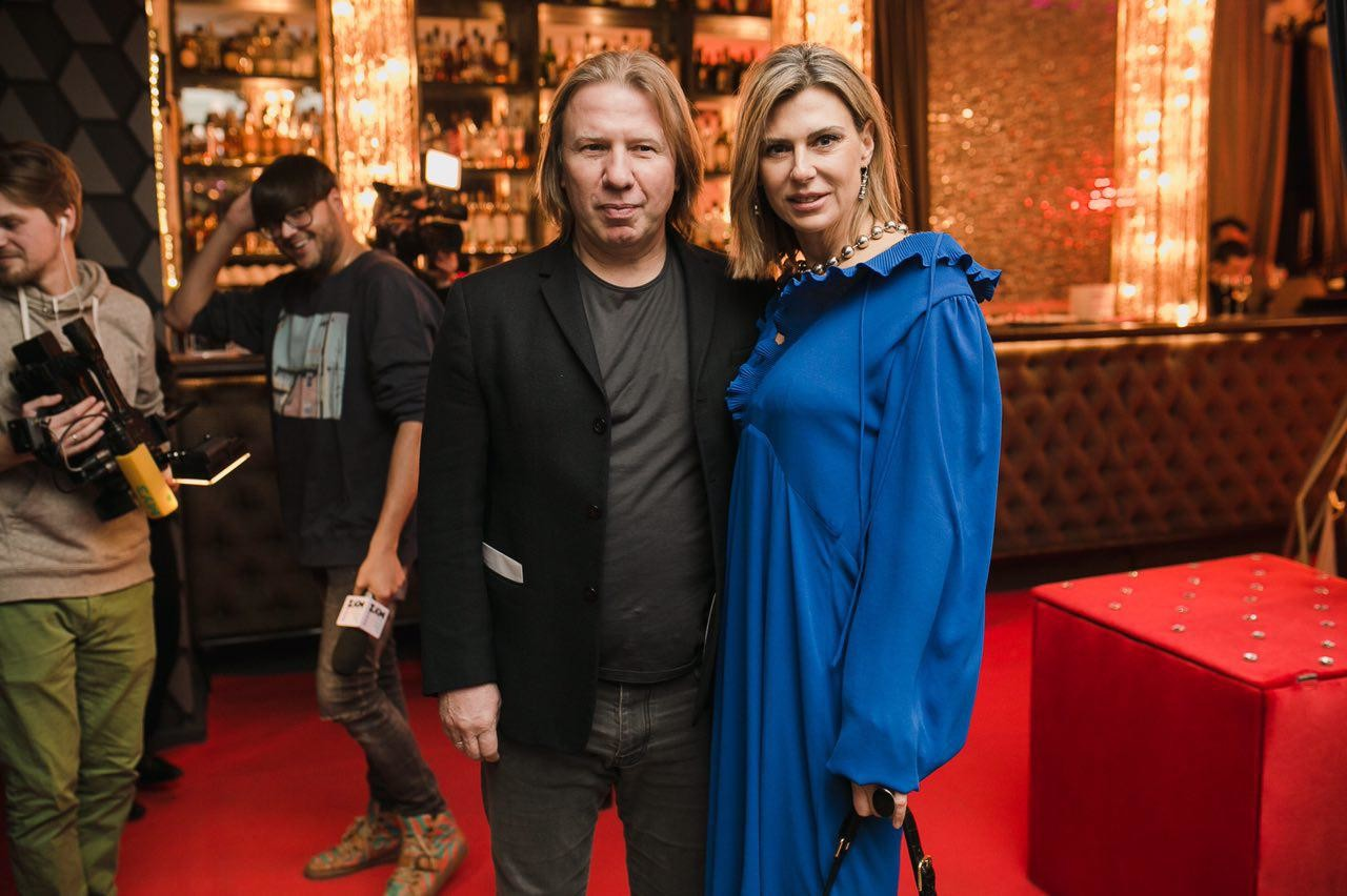 Виктор Дробыш с супругой Татьяной Фото:  LIFE