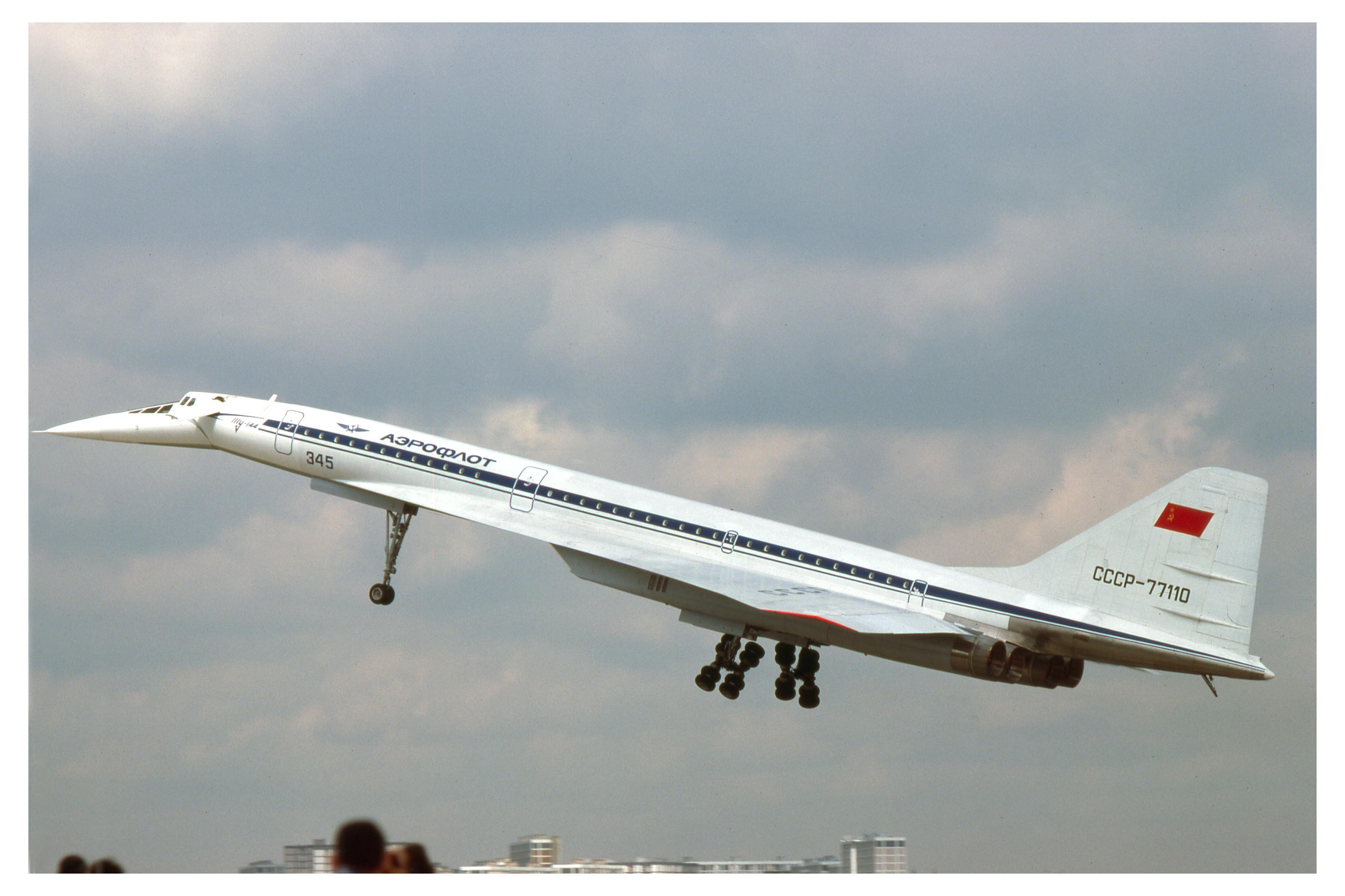 Советский сверхзвуковой лайнер Ту-144. Фото © Flickr/clipperarctic