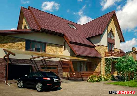 Дмитрий не теряет надежды, что когда-нибудь его дом будет выглядеть именно так...