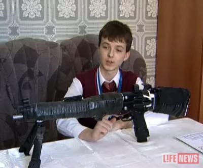 Изобретением юного конструктора заинтересовались в Министерстве обороны
