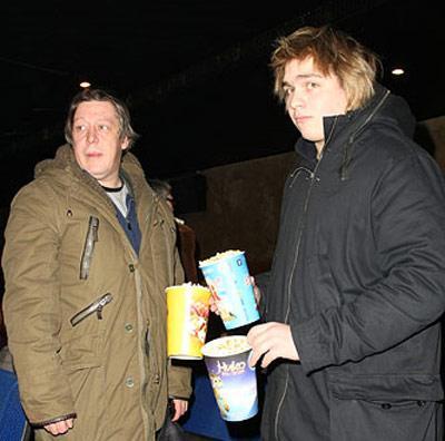 Михаил Ефремов с сыном Николаем