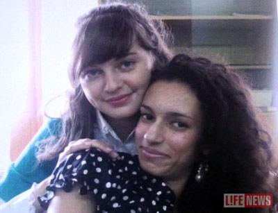 Даша Антонова и Валя Егиазорян