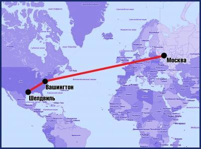 Артем один проделал путь в тысячи километров