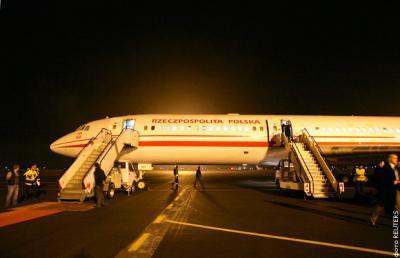 Глава Польши совершал свои визиты на российском лайнере