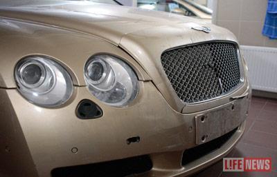 Шикарному авто певицы предстоит серьезный ремонт