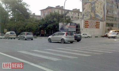 Все произошло именно на этом перекрестке в центре Новороссийска