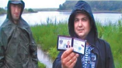 Роман Постников был задержан милицией в июне прошлого года за рыбалку с помощью сети (фото www.rybak-rybaka.ru)