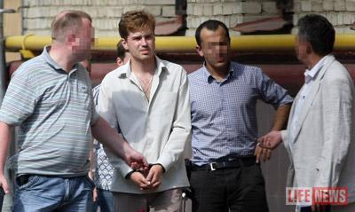 Подозреваемый Александр Михайлов был задержан 27 июля утром
