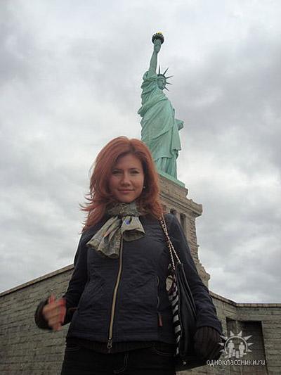 Анна приехала в Нью-Йорк в феврале этого года