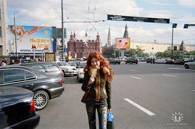 Родная столица - любимое место Анны на земле