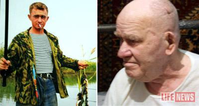 Погибший 32-летний Михаил был заядлым рыбаком. Справа - его отец.