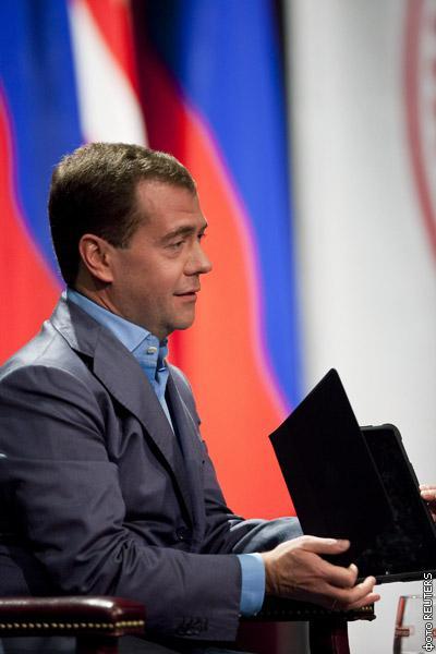 iPad стал верным помощником Дмитрия Медведева