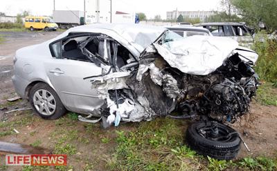 Если бы в автомобиле судьи был пассажир, он бы погиб на месте