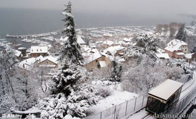 Неделю женщина прожила в Альпах, где температура опускалась до 10 градусов выше нуля