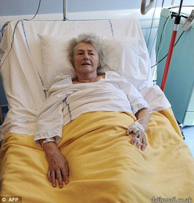 Героическая женщина провела неделю без еды