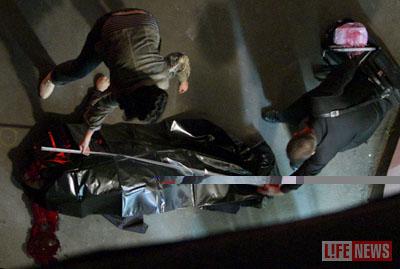 Банкир погиб в нескольких метрах от дверей его магазина