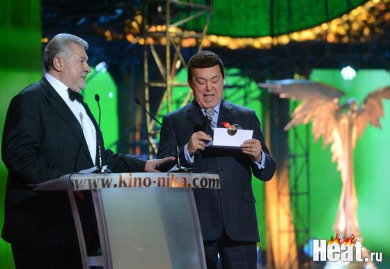 Иосиф Кобзон наградил актеров за лучшую мужскую роль