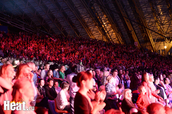 На концерт любимой российской поп-группы пришло около 7 тысяч человек