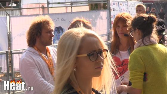 После репетиции Стоцкая предъявила претензии организаторам