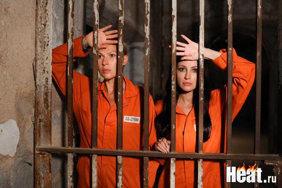 Анастасия Макеева и Лика Рулла провели в камерах одну ночь