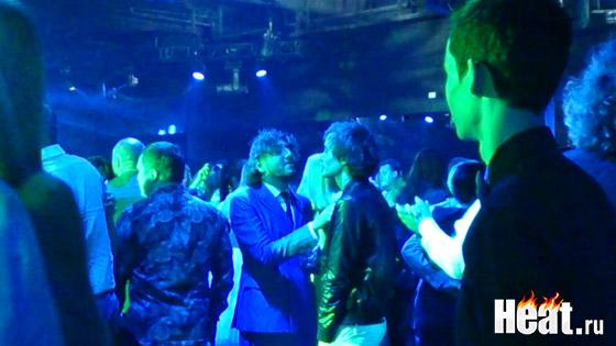 Михаил Друян и Александр Терехов станцевали медленный танец
