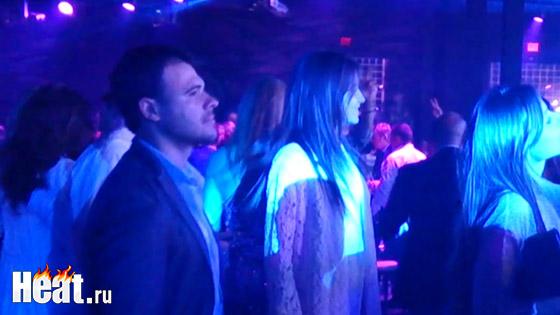 На вечеринке отдыхал Эмин Агаларов - один, без супруги