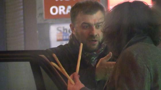 Пореченков пробыл на празднике до конца и покинул ресторан вместе с именинником