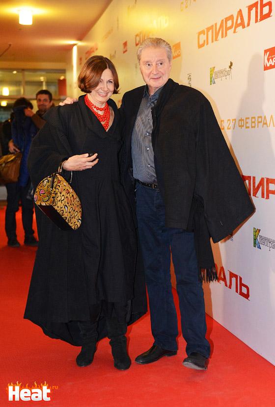 Вениамин Смехов и его жена Галина Аксенова