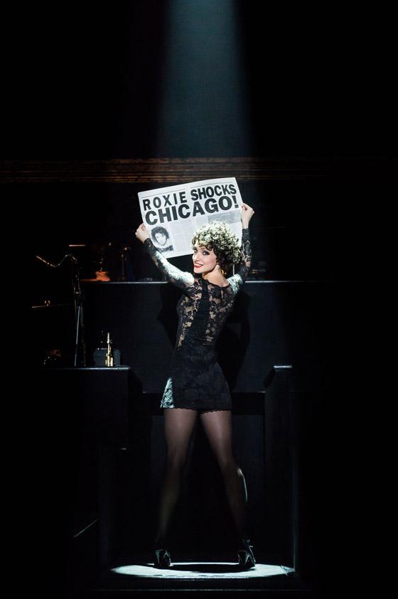 Анастасия Макеева играла в мюзикле главную роль – аферистки Рокси Харт