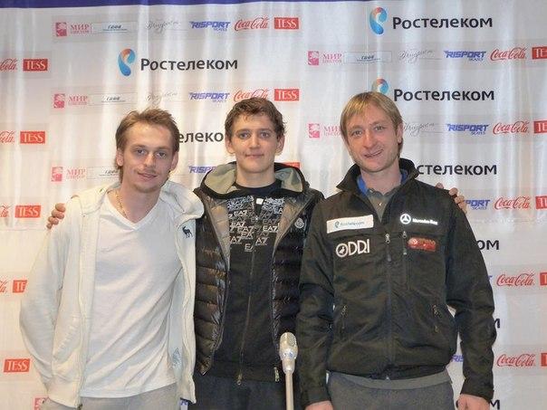 Еще недавно Ковтун называл Плющенко своим кумиром