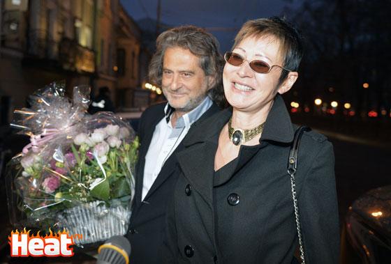 Ирина Хакамада с супругом