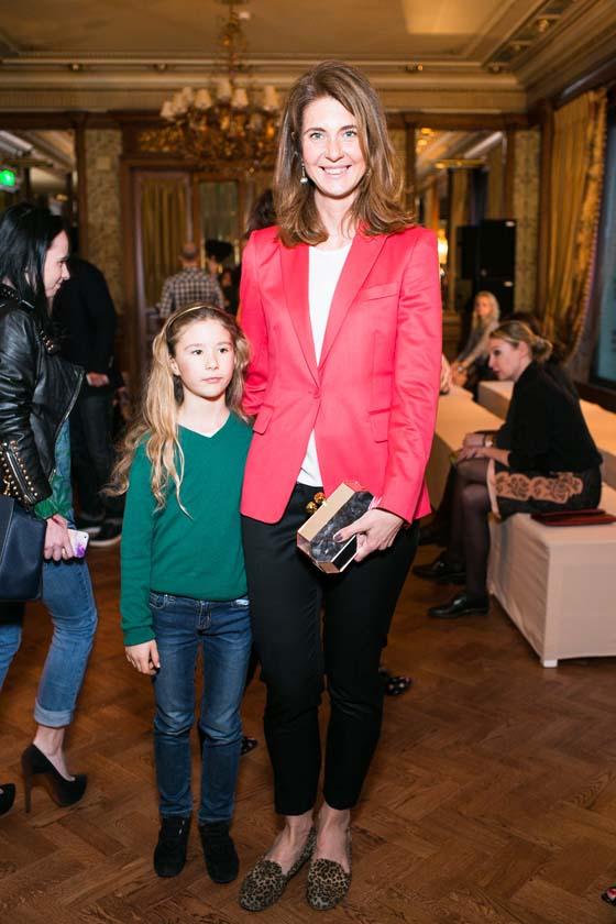Дарья Лисиченко с дочерью
