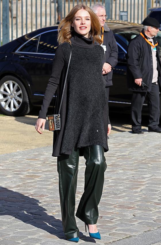 Наталья Водянова на Парижской Неделе Моды