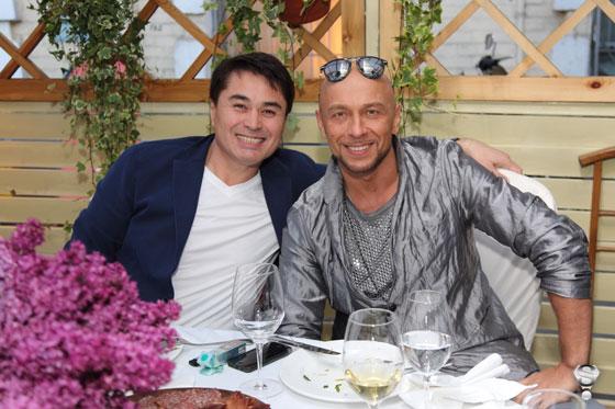 Арман Давлетяров и российский дизайнер Игорь Гуляев