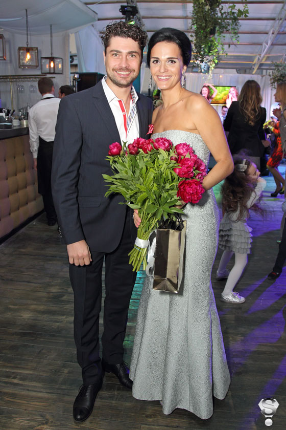 Певица Слава и шоумен Дмитрий Оленин