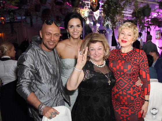 В числе приглашенных гостей была и Любовь Успенская