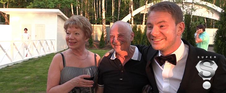 Smash c родителями, прибывшими на праздник из Перми