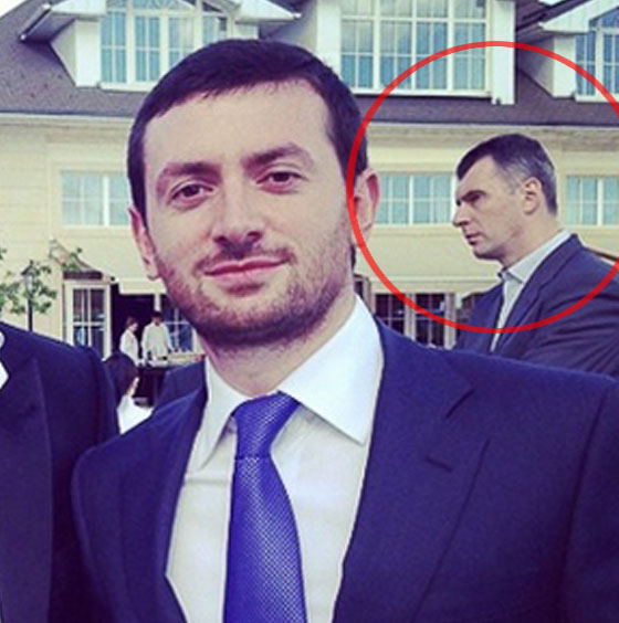 На свадьбе присутствовал Михаил Прохоров