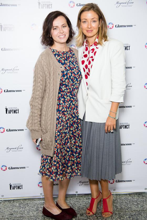 Оксана Лаврентьева (Русмода) и Ирина Вольская (Quintessentially)